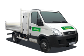 location Iveco Camion Benne Simple Arcachon