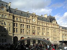 photo Paris Gare Saint Lazare