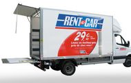 Rentacar camion déménagement avec hayon